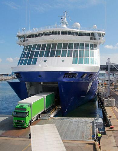 Road Marine Transportation Aegean Link